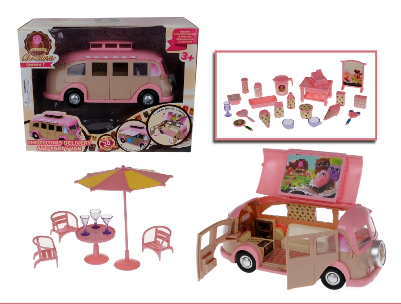 Food Truck Con Accesorios Chocotinis