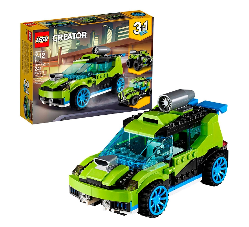 Coche De Rally A Reaccion Lego Creator