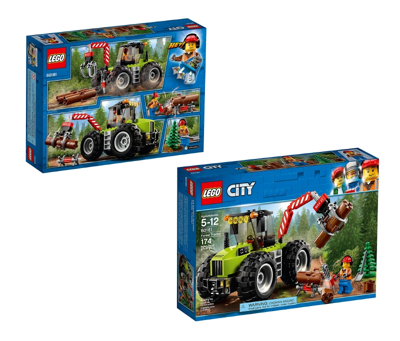 Tractor Forestal Lego City