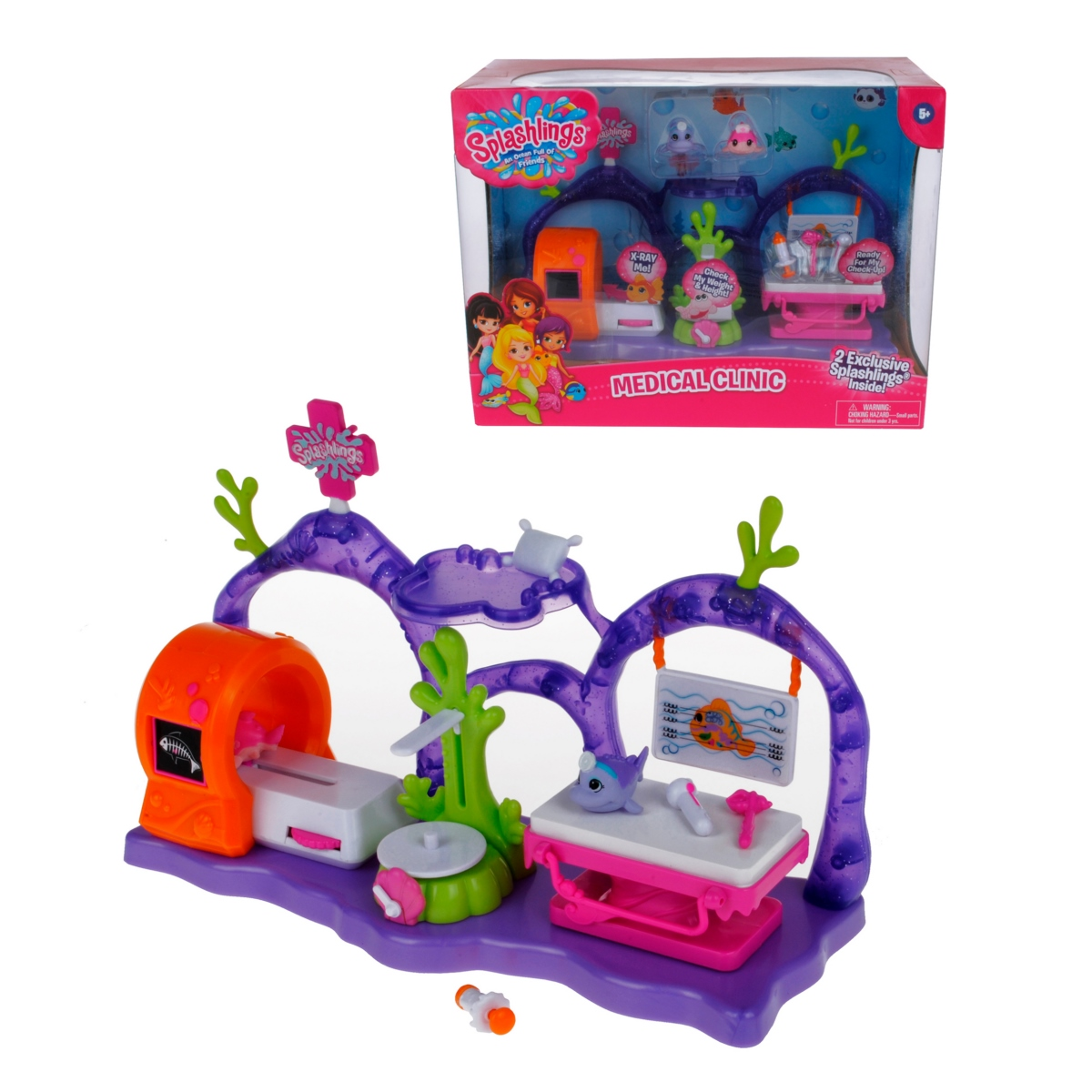 Playset Clinica Medica Splashlings