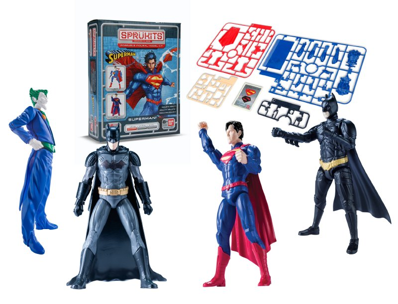 SPRUKITS Kit Figura Armable De Comics Nivel 1 Sp