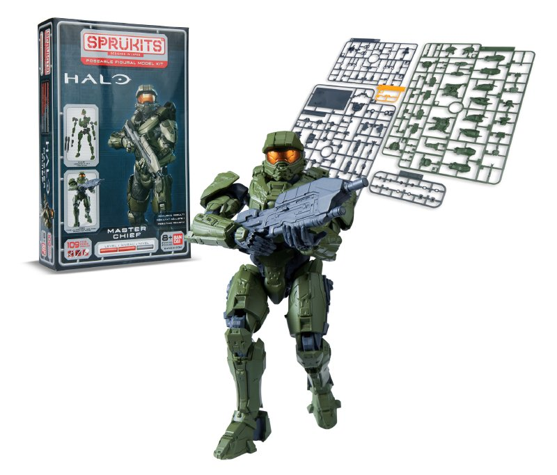 SPRUKITS Figura Armable Halo Master Chief Nivel
