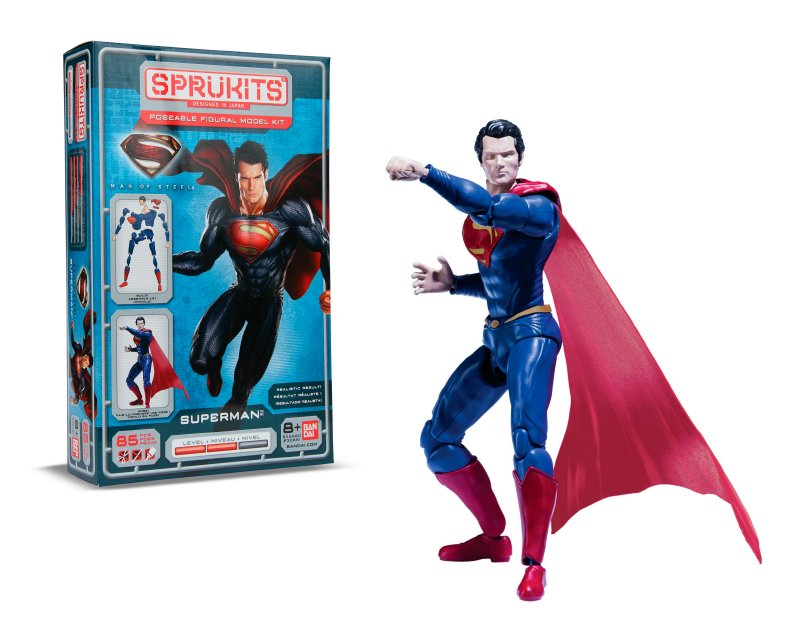 SPRUKITS Kit Figura Armable Superman Nivel 2