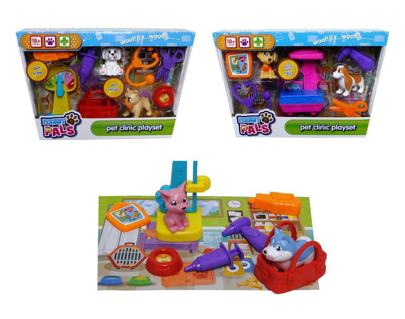 Playset Clinica Veterinaria