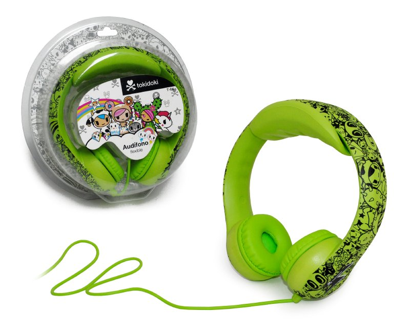 TOKIDOKI Audifono Semi Flexibles