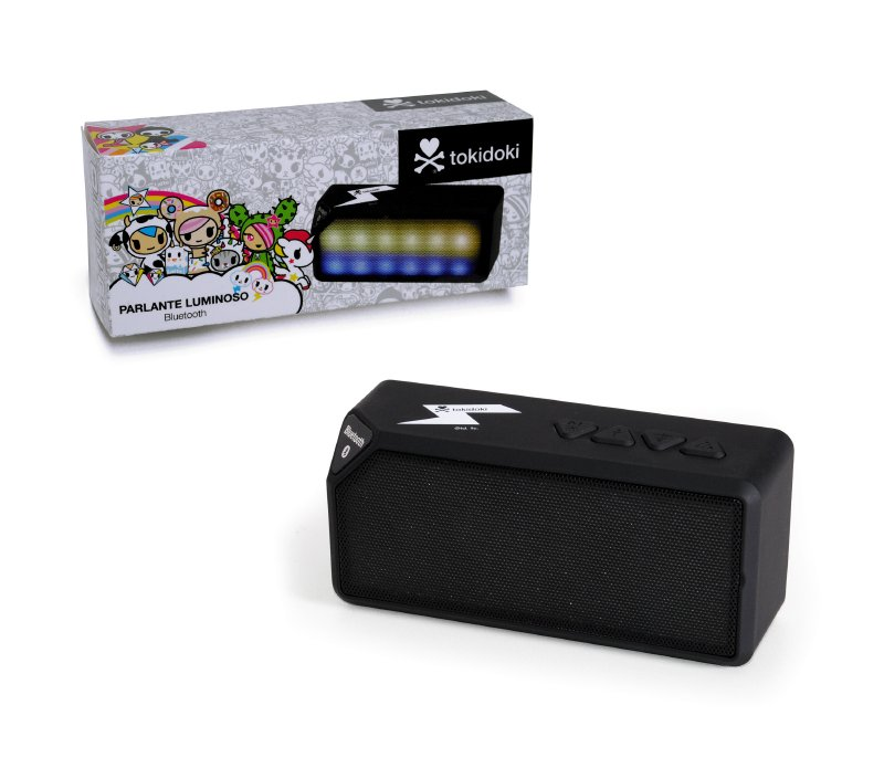 TOKIDOKI Parlante Luminoso Con Bluetooth