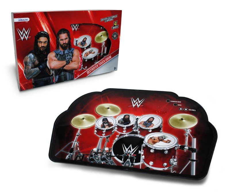 Bateria Touch Wwe