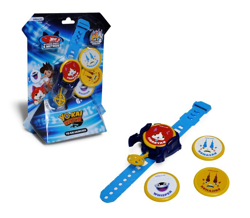Lanza Discos Yo-kai Watch