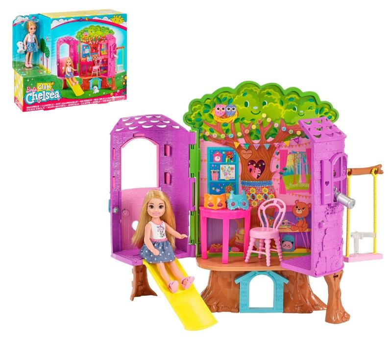 Barbie Casa del Árbol de Chelsea